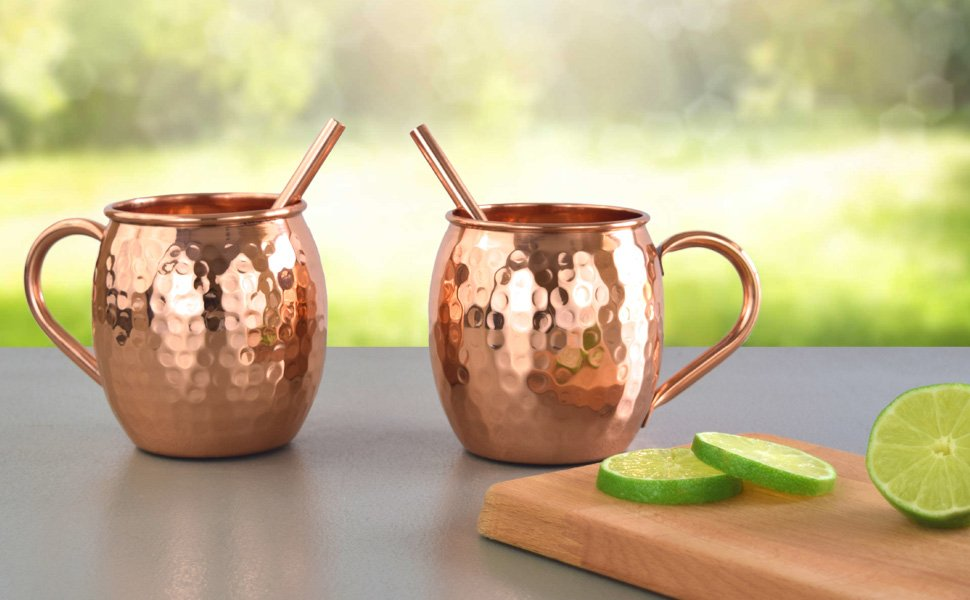 Moscow Mule Copper Mugs Set of 2