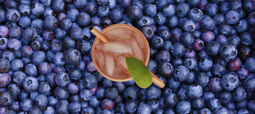Bluberry Moscow Mule Recipe
