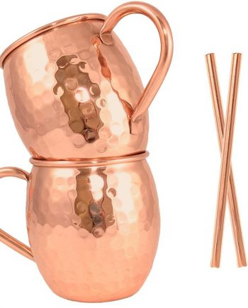 Moscow Mule Copper Mug Set of 2