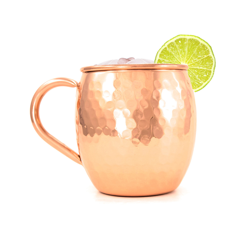 Hammered Copper Mug for Moscow Mule