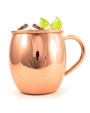Smooth Barrel Copper Mug for Moscow Mule