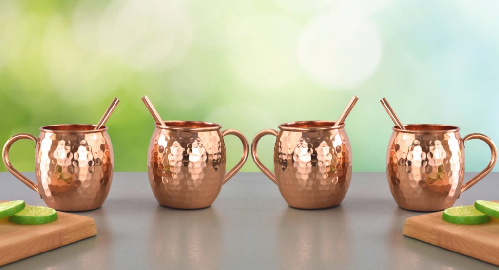 Moscow Mule Mugs Set of 4 - Pure Copper