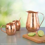 Copper-pitcher-with-mugs-and-straws
