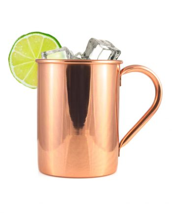 Smooth Classic Copper Moscow Mule Mug