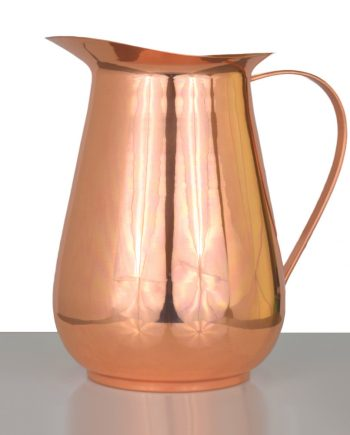 Smooth Finish Copper Jug Water